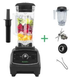 Профессиональный блендер Biolomix G5200 Черный + Чаша для сухих продуктов и комплект ножей